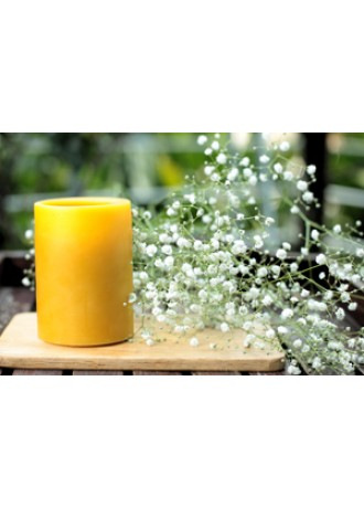australianScent beeswax candle Honey Scent