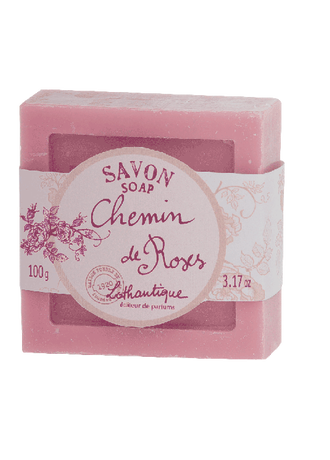 Lothantique Chemin De Roses  Soap Bar 100g *New*
