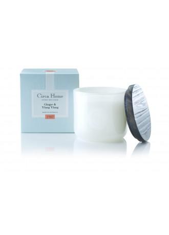 Circa Home Soy Jar Candle - Ginger & Ylang Ylang