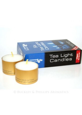 Tea Light Candles 6 in a pack (each 9 Hours burning)