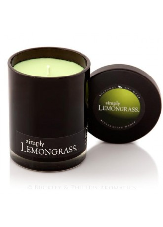 Simply Soy Jar Candle  Lemongrass