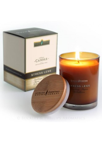 Gumleaf Essentials Soy Jar Candle Stress Less (Aromatherapy Candle)