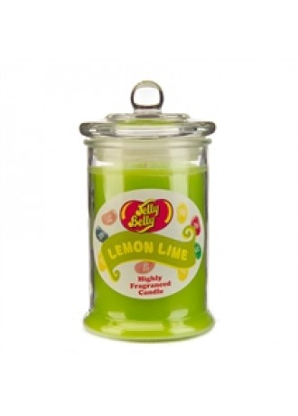 Jelly Belly  Lemon Lime Candle Jar
