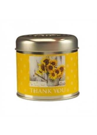 Timeless Collection Thank You Candle Tin