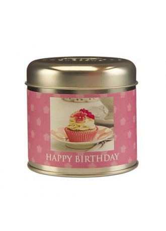 Timeless Collection Happy Birthday Candle Tin