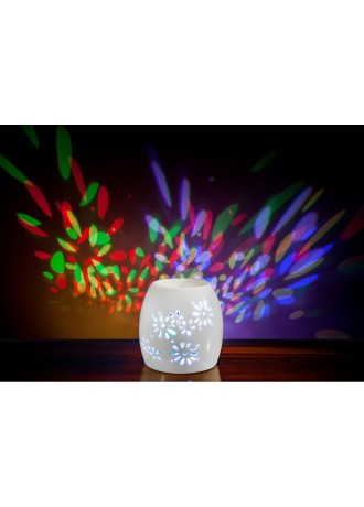 Electric Oil Vaporiser-Rainbow Multi LED light