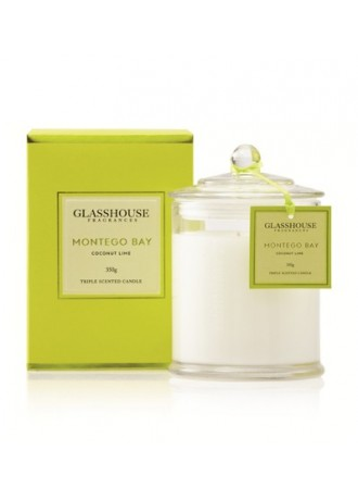 Glasshouse Fragrances Montego Bay -Coconut Lime