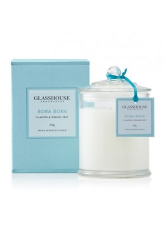Glasshouse Fragrances  Candle-Bora Bora