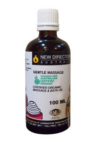 Certified Organic Massage Oil & Bath Oil  Gentle Massage
