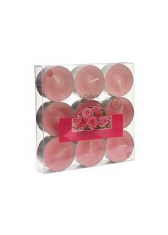 Rose Garden Box  9 Tealights