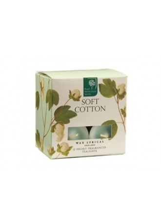 Soft Cotton 12 Tealights
